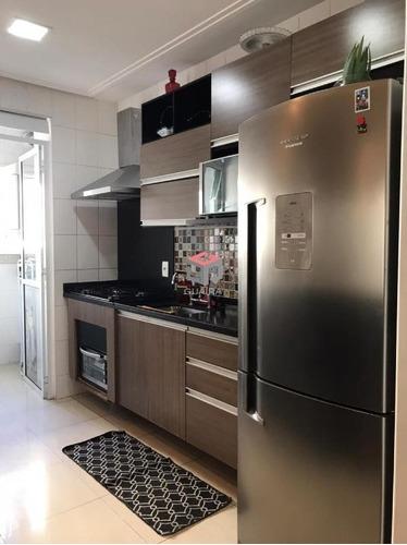 Imagem 1 de 19 de Apartamento À Venda, 3 Quartos, 1 Suíte, 1 Vaga, Planalto - São Bernardo Do Campo/sp - 98443