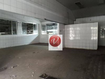 Galpão Comercial Para Venda E Locação, Campestre, Santo André. - Ga0124