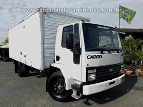 Cargo 1215 Cummins Turbo Intercooler Toco Baú Isotérmico !