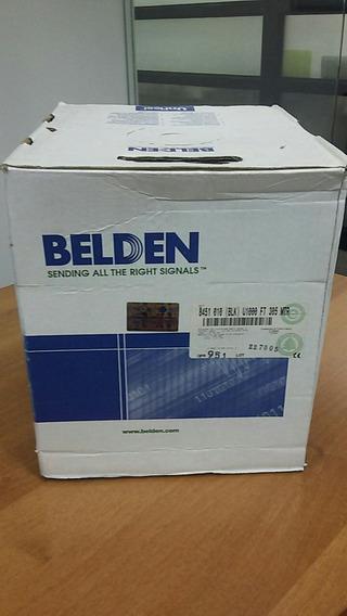 Cable Belden 8451 Bobina De 1000 Pies Para Audio