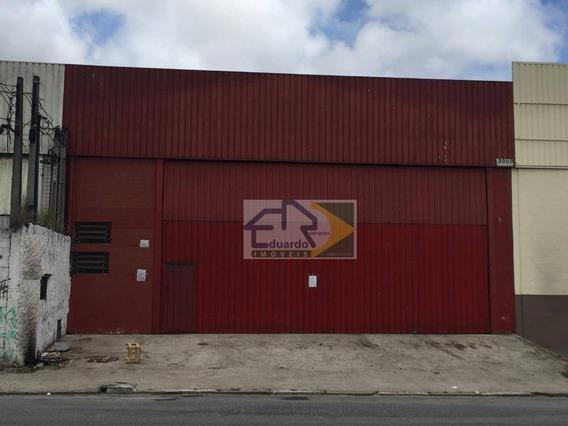 Galpão Para Alugar, 365 M² Por R$ 4.500/mês - Vila Figueira - Suzano/sp - Ga0005