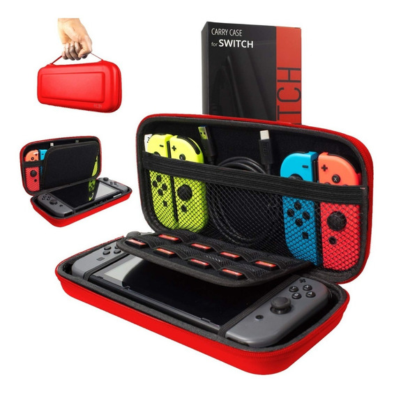 Estuche Funda Nintendo Switch Protector Orzly Transportar