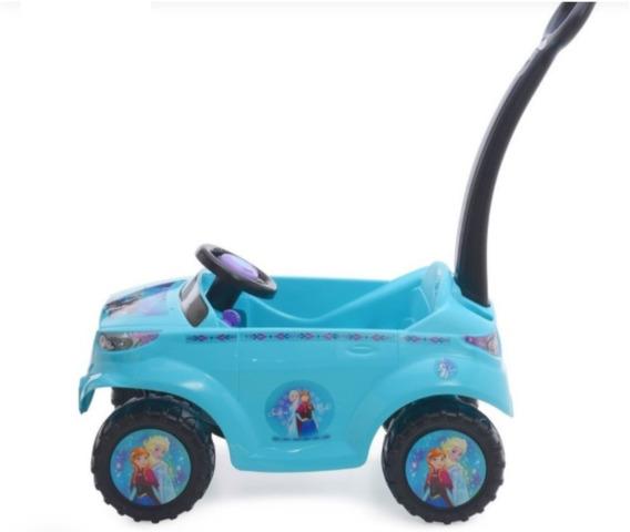 Carrito Para Niña Push Car Corsa De Frozen Marca Prinsel Msi