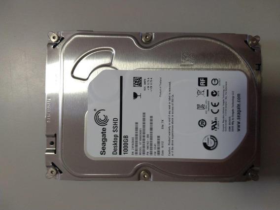 Hd 3.5 Desktop Pc Sshd Seagate Hibrido 1tb + 8gb Ssd Mlc