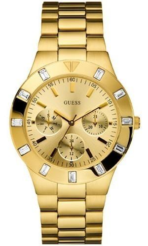 Relógio Dourado Guess Feminino