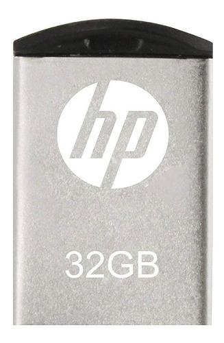 Pendrive Hp V222w 32gb 2.0 Metal Flash Drive Retractil Pc
