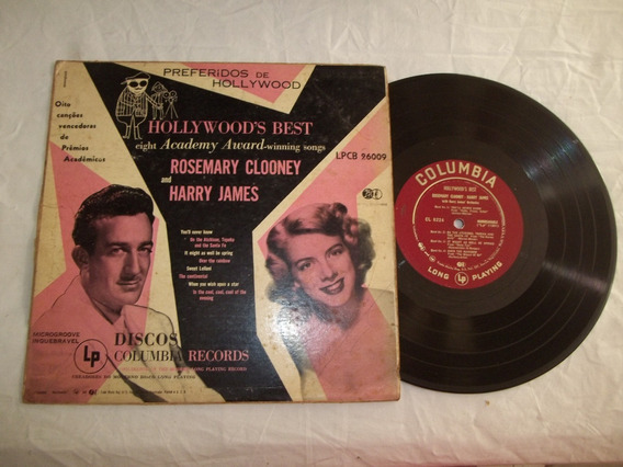 Vinil Lp 10 Polegadas - Rosemary Clooney And Harry James