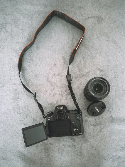 Camera Canon Eos Rebel T6s + Lente 18-135mm 3.5-5.6 Stm