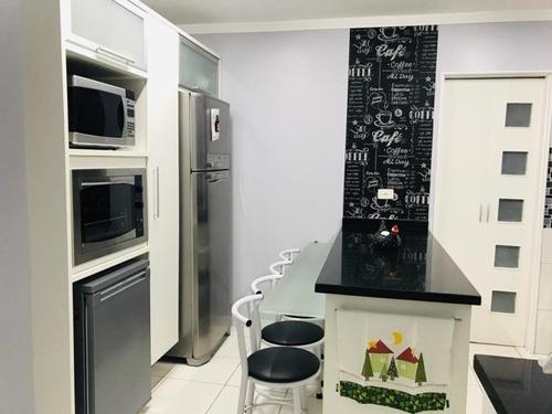 Apartamento Com 3 Dormitórios À Venda, 139 M² - Jardim - Santo André/sp - Ap0443 - 67855209