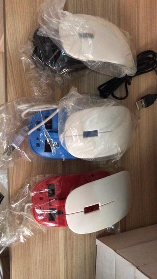 Kit 3d - 27 Unidades Mouse Usb Para Sublimação + Brinde