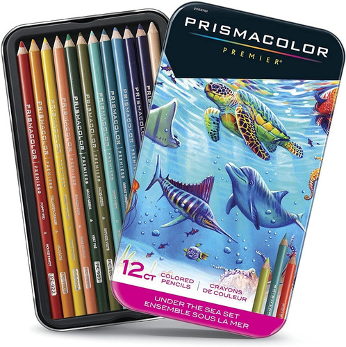 Lapices Prismacolor Premier 12 Colores Importados