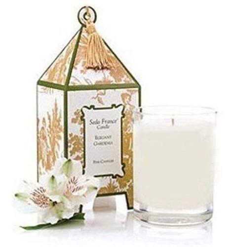 Imagen 1 de 2 de Seda Francia Elegante Gardenia Vela
