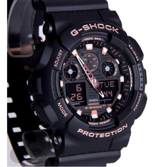 Relógio G-shock Casio Militar Modelo Ga-100-1a4dr