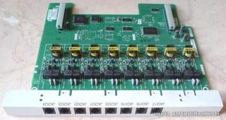 Tarjeta 0 Lineas 8 Exts. Para Conmutador Kxta308 Panasonic