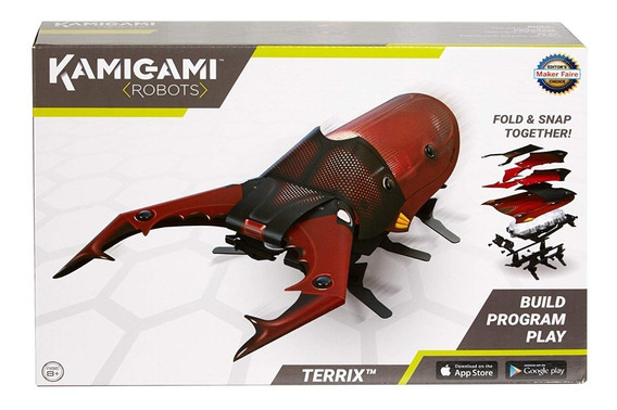 Robot Juguete Armable Kamigami Mattel Terrix Envio Gratis