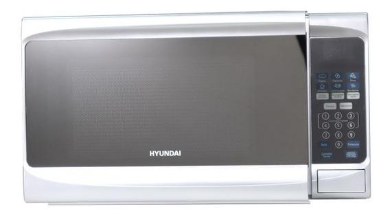 Horno Microondas Hyundai 20 Litros Efecto Espejo / Hymw710