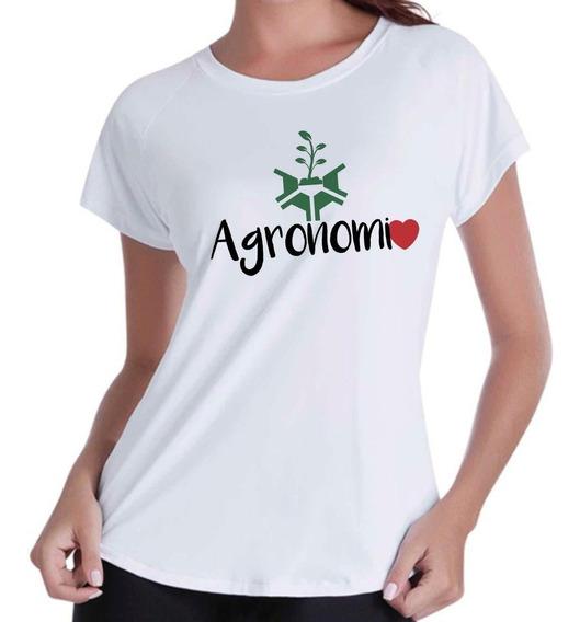 Camiseta Camisa Blusas Femininas Profissão Agronomia