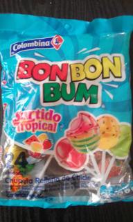Chupetas, Caramelos Bom Bom Bum Surtidas