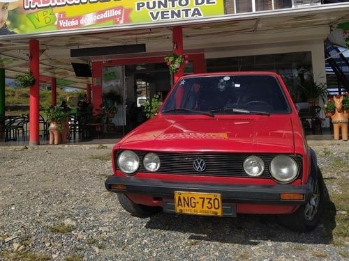 Imagen 1 de 15 de Volkswagen Golf Mk1 Gls
