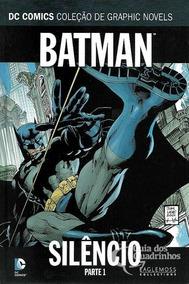 Batman Silêncio Eaglemoss Parte 1 E 2 Completo Frete Grátis
