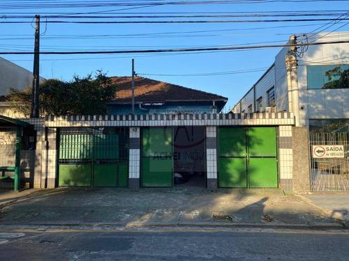 Imagem 1 de 17 de Casa Com 3 Dormitórios Para Alugar, 151 M² Por R$ 4.500,00/mês - Vila Matias - Santos/sp - Ca1856