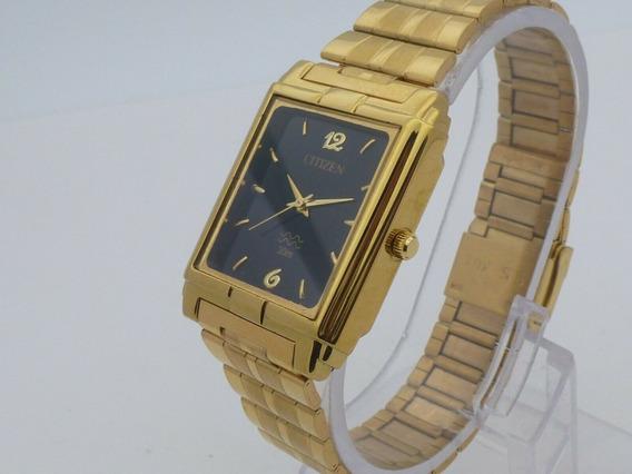 Reloj Vintage De Pulsera Dorado Vintage Cuarzo Citizen (1)