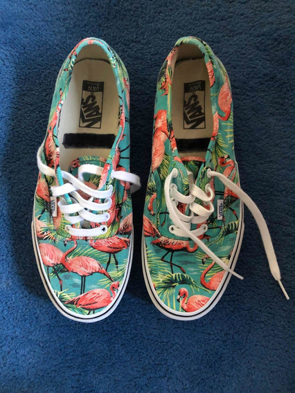 Zapatillas Vans Con Estampado.