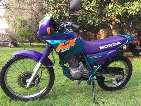 Vendo Honda Nx200 - Impecable - 1998 - 13.000km - Japón