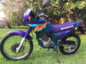 Vendo Honda Nx200 - Impecable - 1998 - 13.500km - Japón