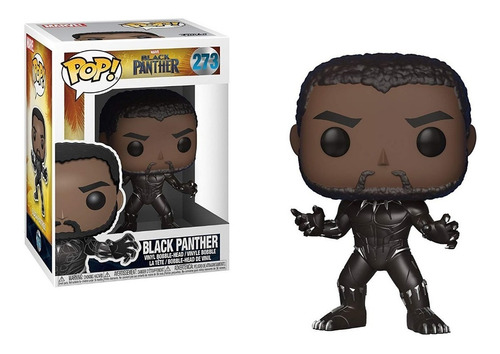 Funko Pop Black Panther #273 Avengers Marvel Regalosleon