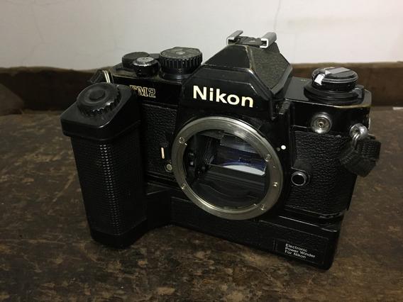 Camera Fotográfica Nikon Fm2 - Usada - C/ Defeito