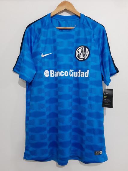 Camiseta San Lorenzo Nike Entrenamiento 2018. Original.