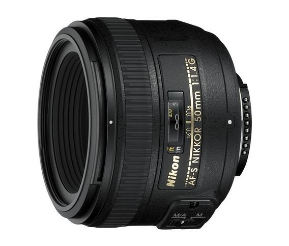 Lente Profissional Nikon Af-s Nikkor 50mm F/1.4g