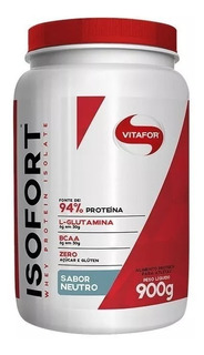 Isofort Whey Protein Isolada (900g) Vitafor Promoção + Brind