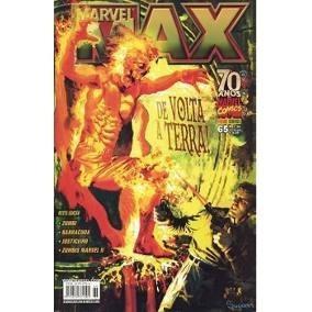 Gibi Marvel Max De Volta À Terra - Nº 65 - Jan/2009