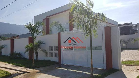 Casa Com 2 Dormitórios À Venda, 80 M² Por R$ 295.000,00 - Massaguaçu - Caraguatatuba/sp - Ca0336