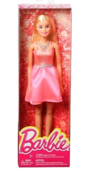 Barbie Basica Glitz - Mattel 30cm (opcional)