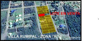 Lote En Villa Rumipal - Zona H - Villa Rumipal