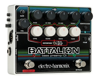 Pedal Electro Harmonix Bass Preamp Battalion