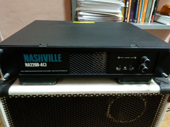 Amplificador De Potência Nashville Na 2200 - 600w Rms