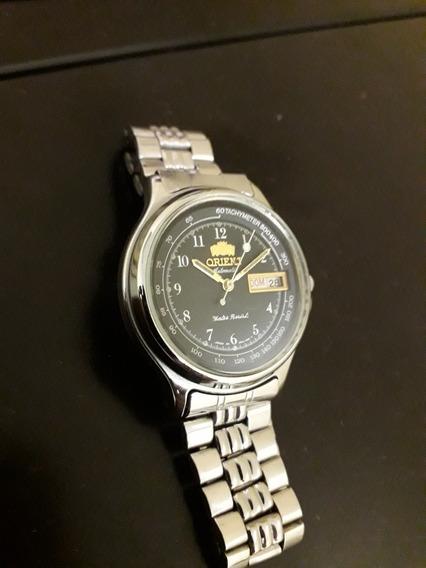 Relógio Orient Automático Usado,cristal
