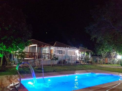 Sítio Com 8 Dormitórios À Venda, 19000 M² Por R$ 1.800.000,00 - Village Do Sol - Guarapari/es - Si0001