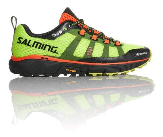 Zapatillas Hombre Salming Running Trail 5 Safety Amarillas