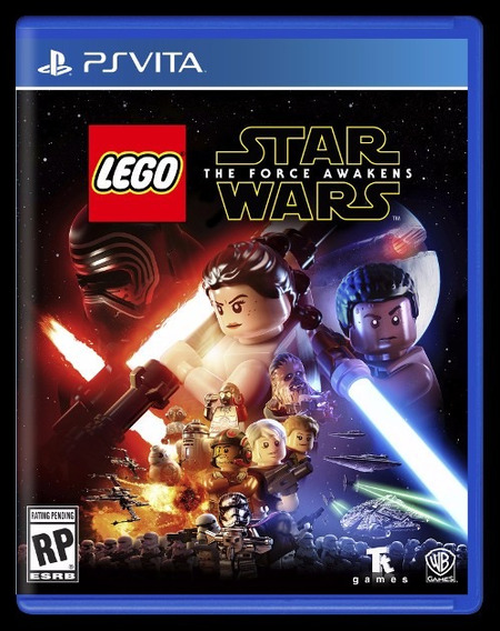 Jogo Mídia Física Lego Star Wars The Force Awakens Ps Vita