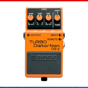 Pedal Boss Ds-2 Turbo Distortion + Fonte + Cabo