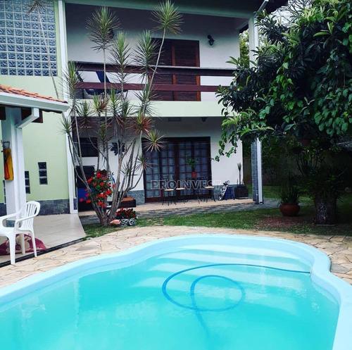 Casa Com 04 Dormitórios!   Chácara Represinha - Cotia/sp - Ca16805