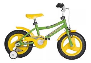 Bicicleta Infantil Cross Liberty Multicolor R12 + Rueditas