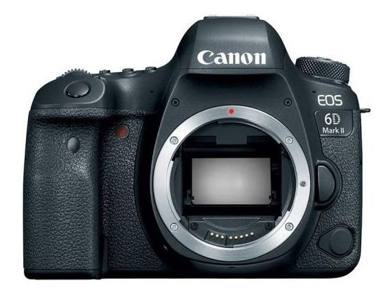 Canon Dslr Eos 6d Mark I I Wi-fi/nfc/bluet + Sd 16gb + Nf-e