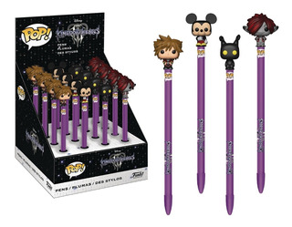 Funko Pop! Plumas Kingdom Hearts Sora O Mickey. Fun Labs.