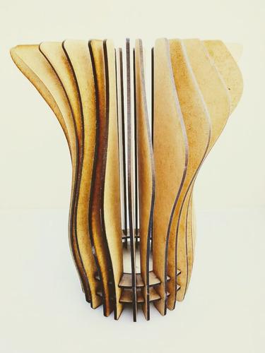 Imagen 1 de 6 de Lámpara Diseño Mod I - Mdf / Fibrofacil